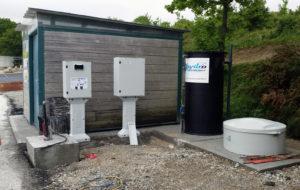 Poste de filtration aire de carénage