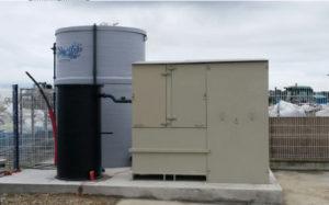 Unité de traitement des eaux de carénage